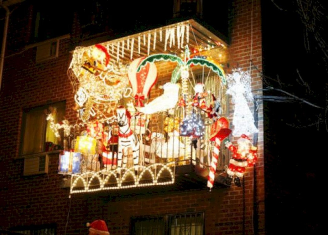 11 Best Apartment Balcony Christmas Light Decorating Ideas For  - Apartment Balcony Decorating Ideas Christmas
