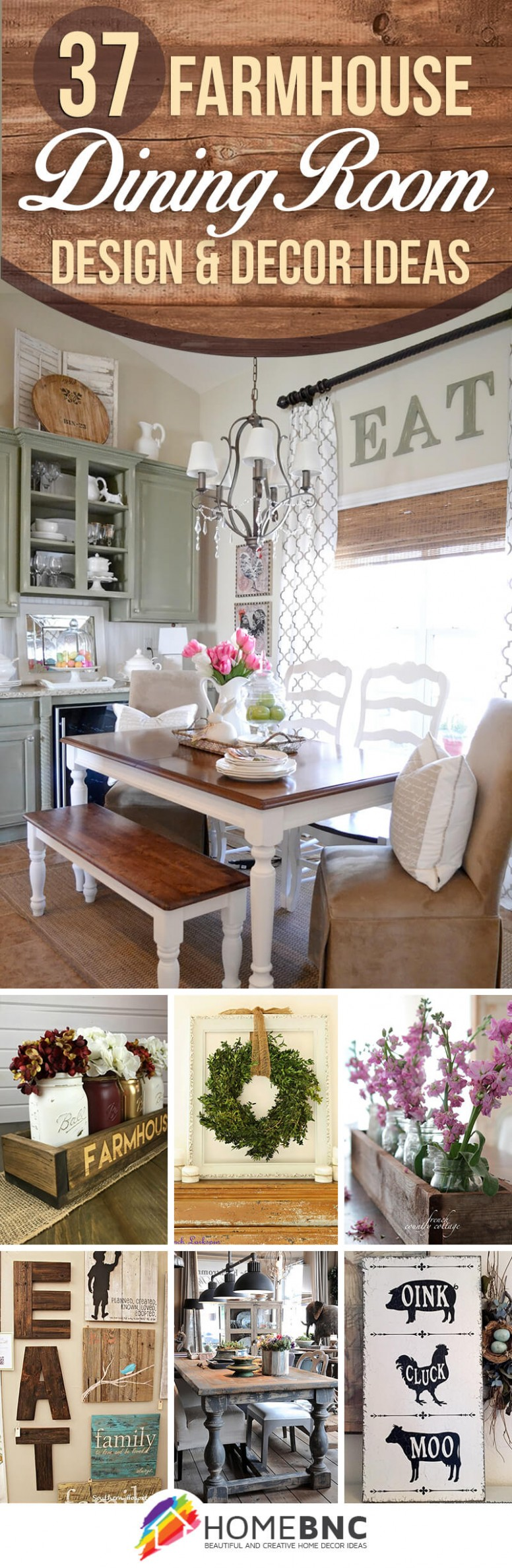 11 Best Farmhouse Dining Room Design and Decor Ideas for 11 - Dining Room Ideas Country