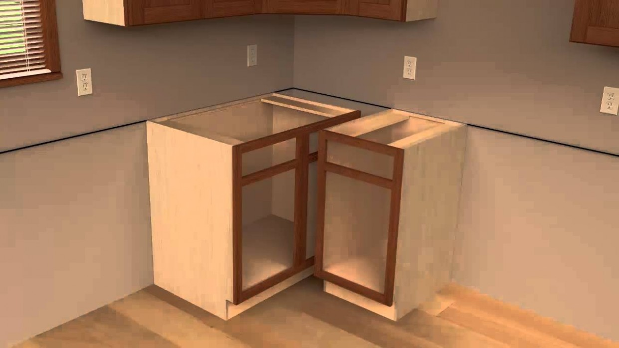 11 - CliqStudios Kitchen Cabinet Installation Guide Chapter 11 - 24 Inch Corner Kitchen Base Cabinet