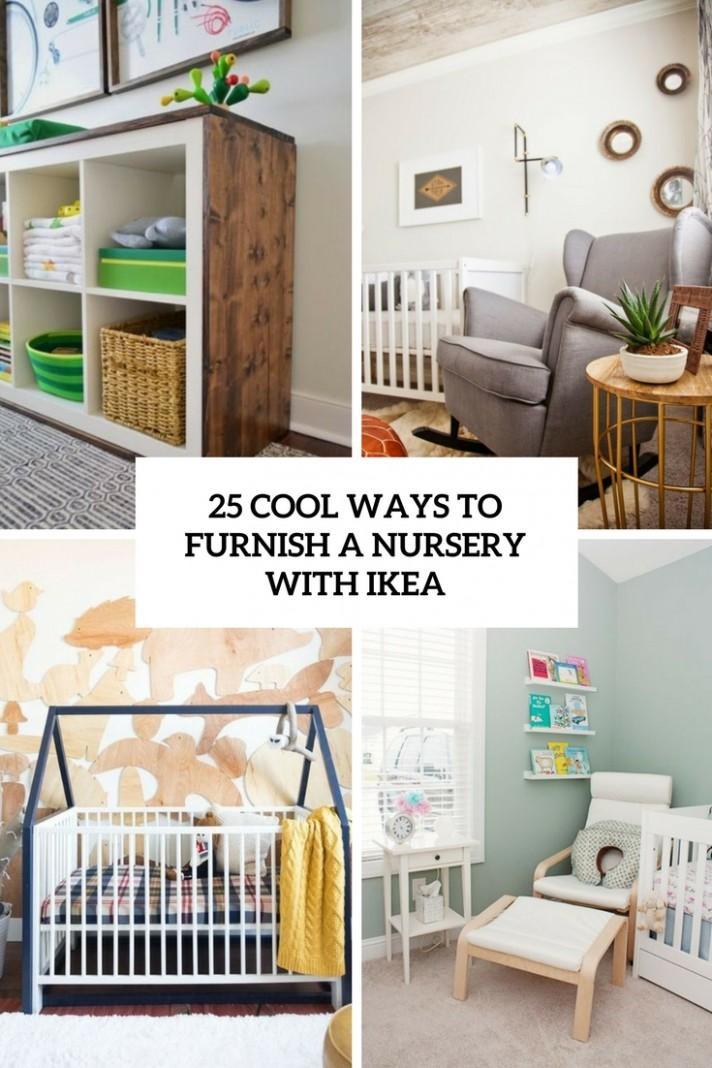 11 Cool Ways To Furnish A Nursery With IKEA - DigsDigs - Baby Room Ikea