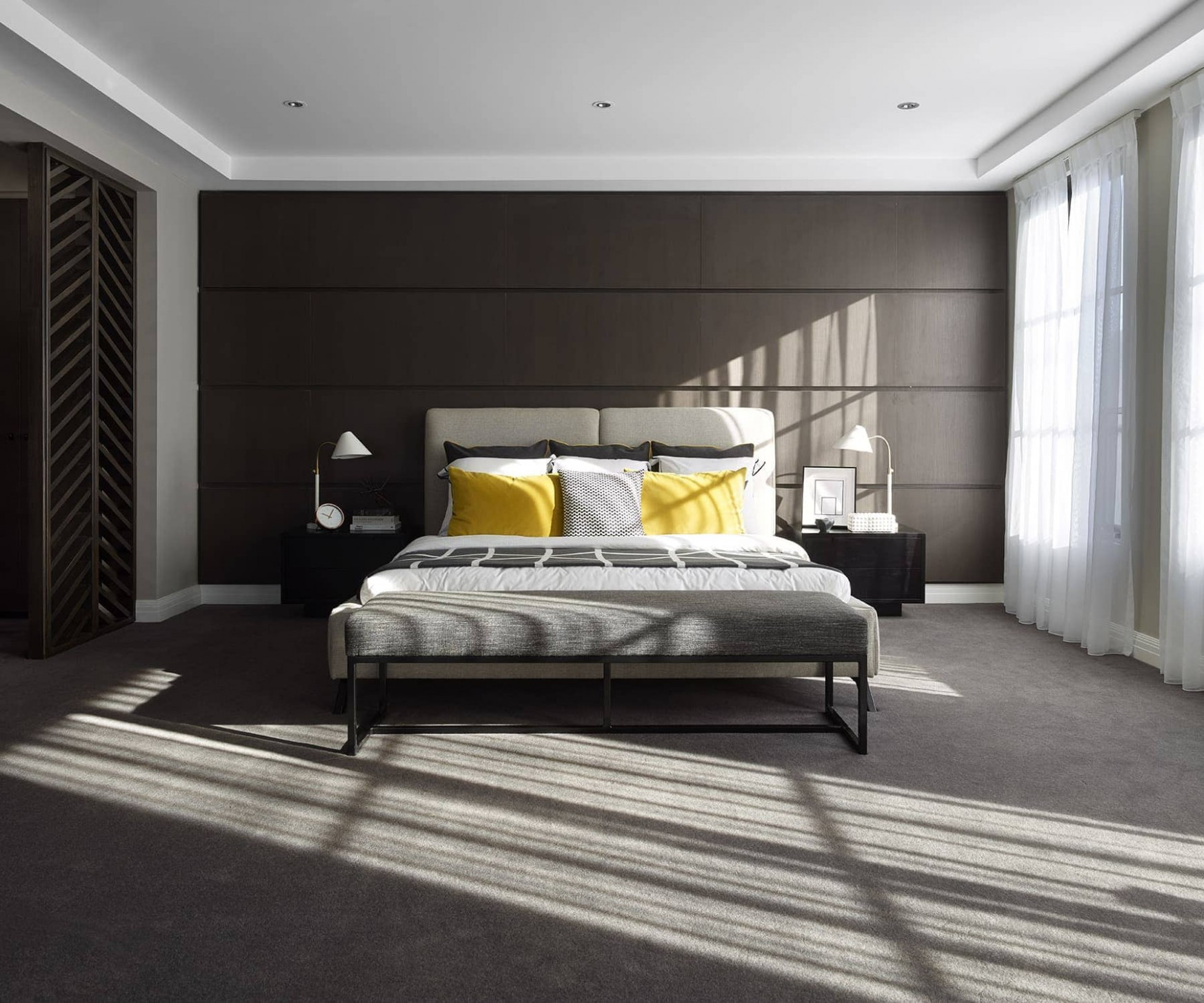 11 Dark Bedroom Wall Ideas to Embrace - TLC Interiors - Bedroom Ideas Dark Grey