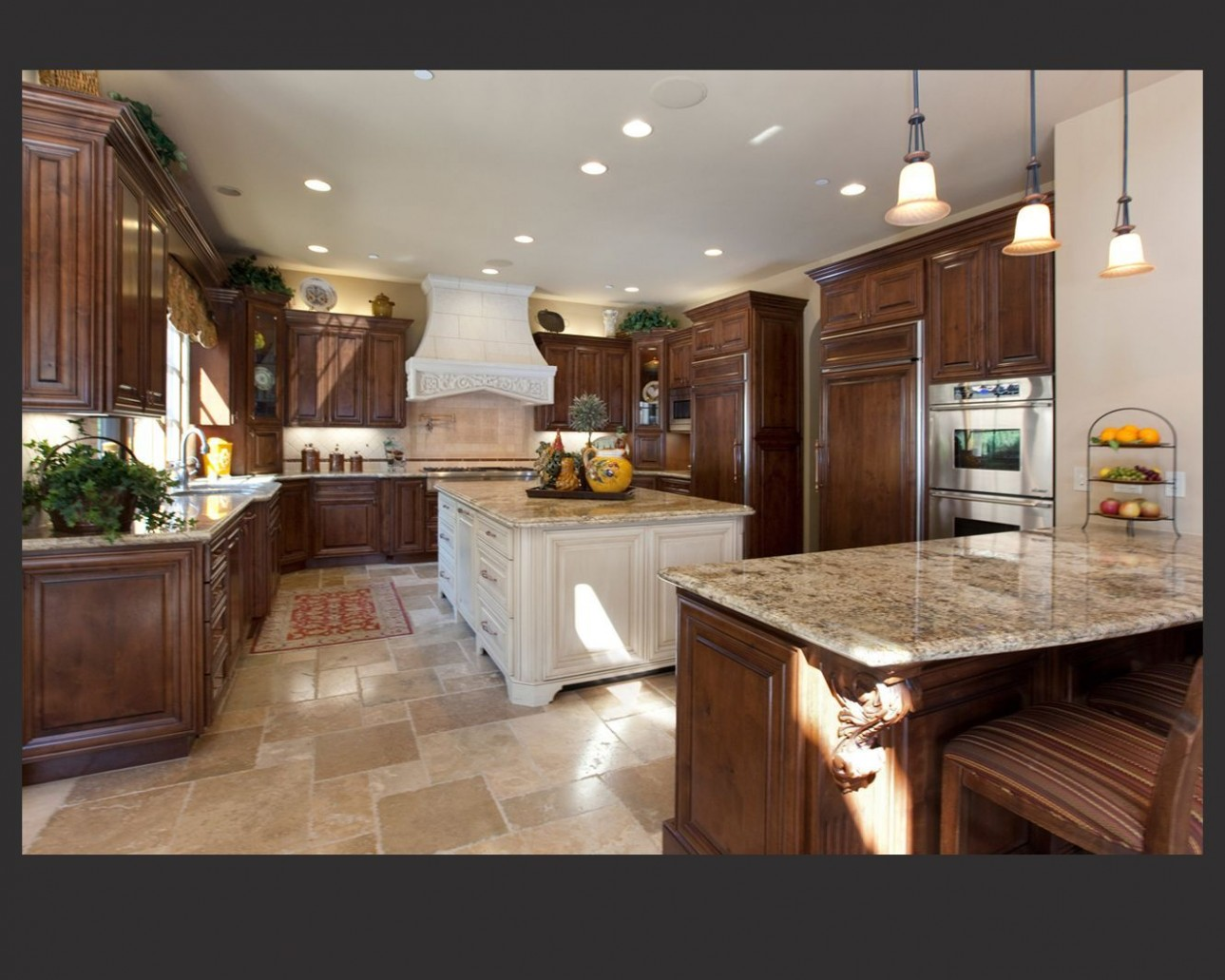 11 Dark Kitchens with Dark Wood OR Black Kitchen Cabinets (11  - Kitchen Cabinet Color Trends 2012