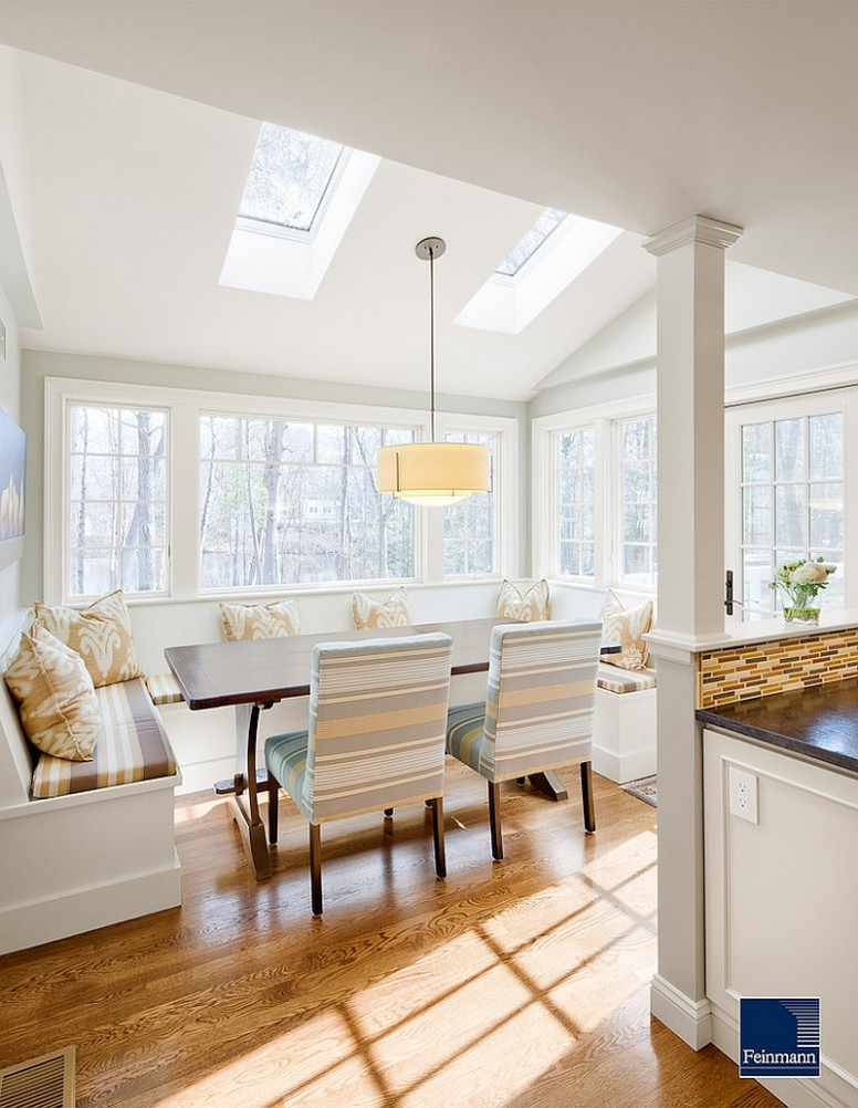 11 Dining Rooms with Skylights that Steal the Show! - Dining Room Off Kitchen Ideas