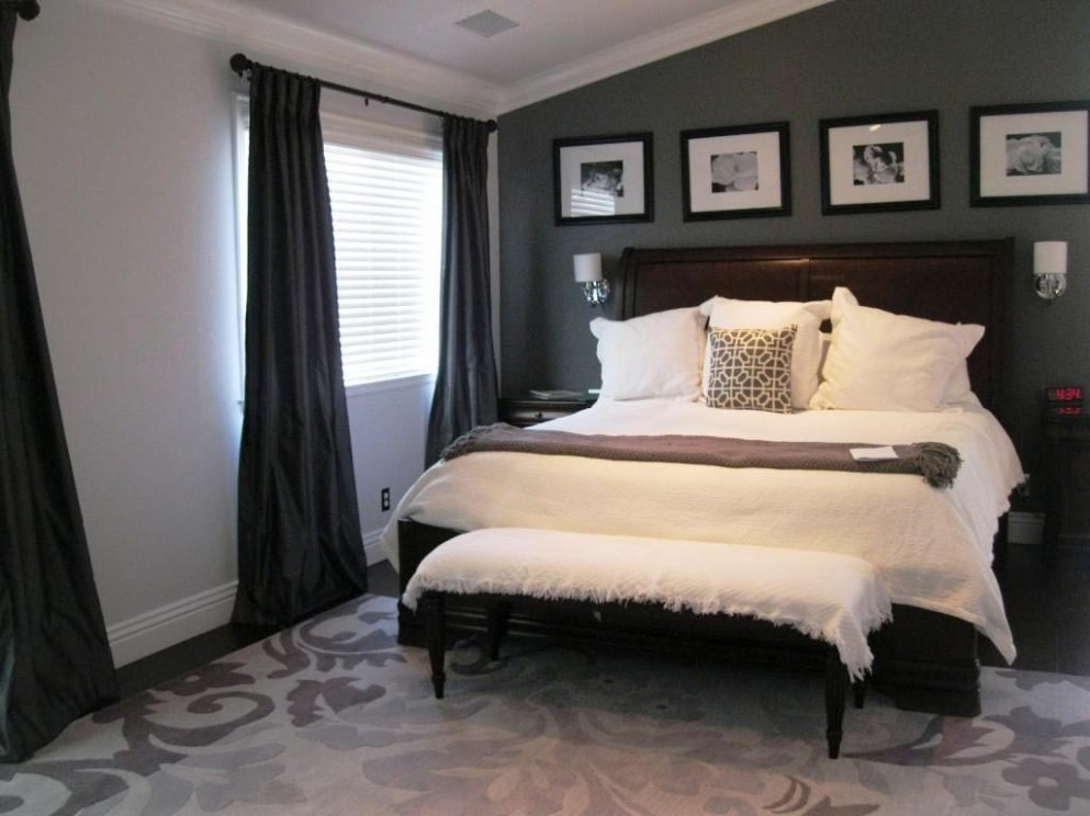11+ Exciting Grey Bedroom Ideas For Having A Beautiful Bedroom - Bedroom Ideas Dark Grey