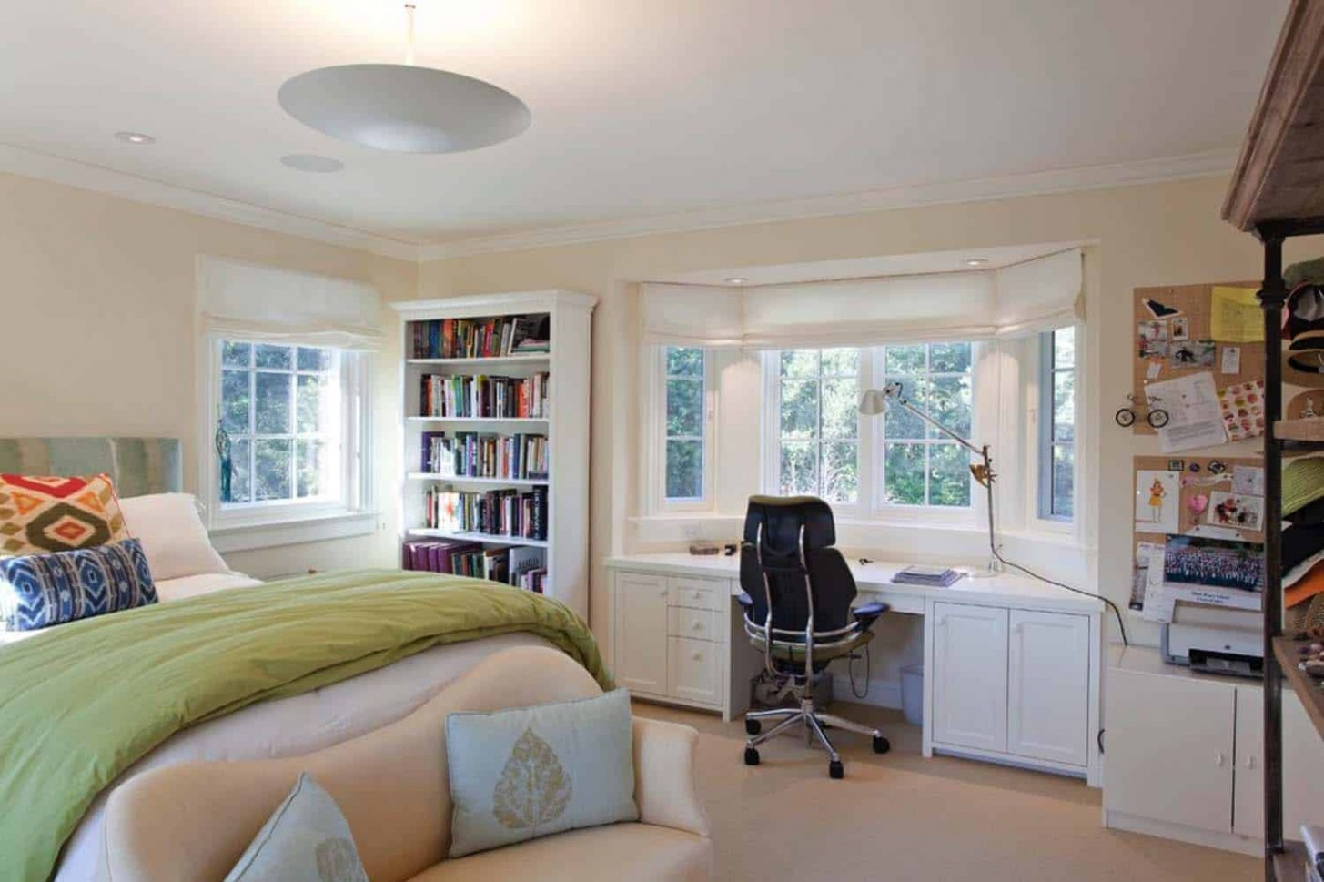 11 Fabulous ideas for a home office in the bedroom - Home Office Ideas Bedroom