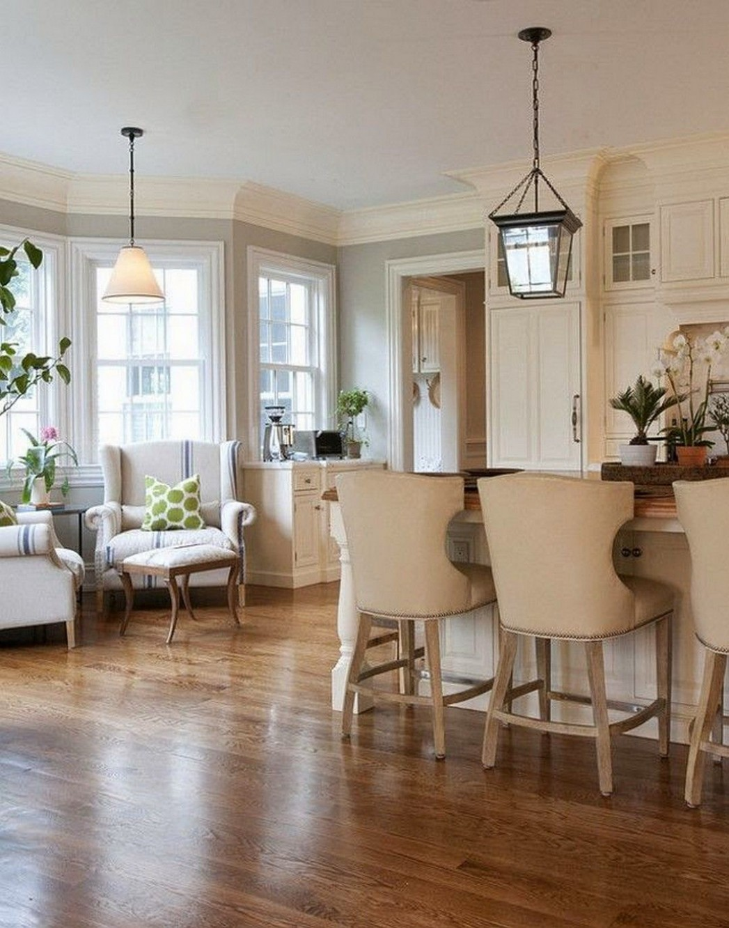 11 Gorgeous Cozy Keeping Room Off Kitchen Design https://www  - Dining Room Off Kitchen Ideas