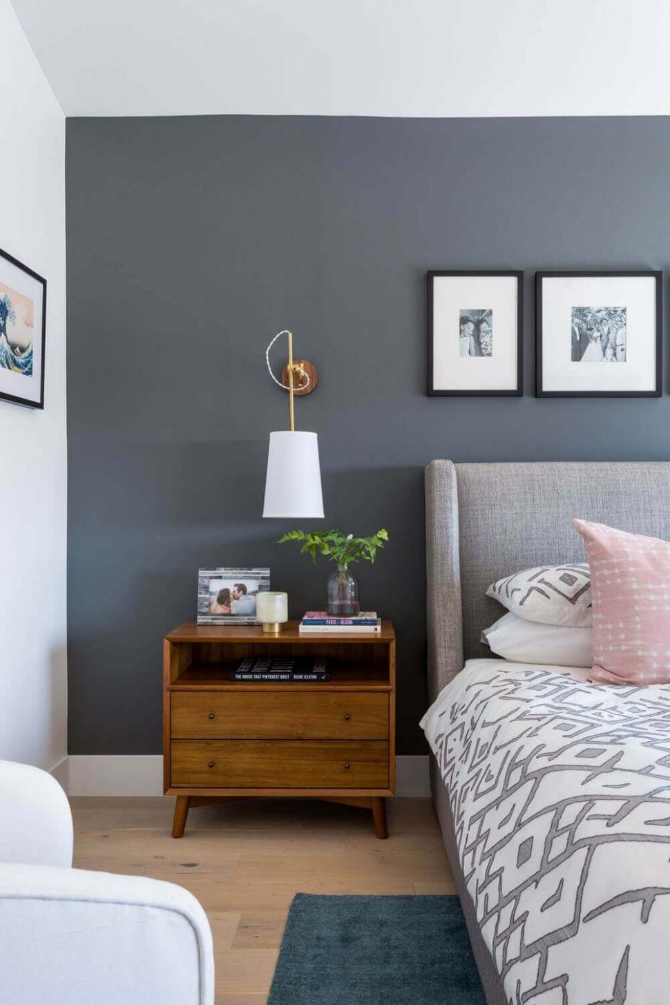 11 Grey Bedroom Inspirations  Modern bedroom furniture, Home  - Bedroom Ideas Dark Grey