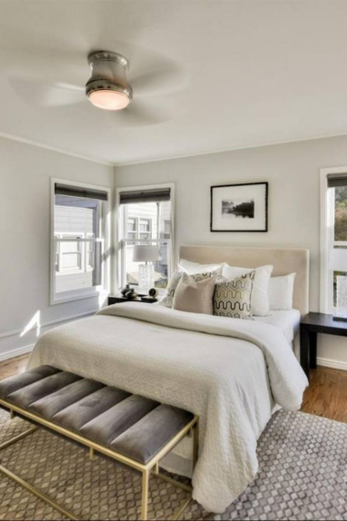 11+ Guest bedroom decor ideas - neutral gray, modern, simple  - Bedroom Ideas Neutral