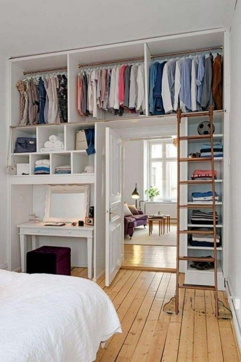 11 Highly Functional Space Saving Ideas For Your Tiny Home  Small  - Bedroom Ideas Space Saving