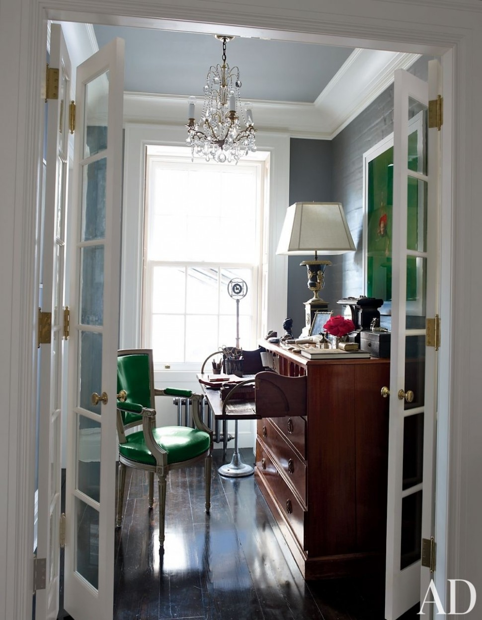 11 Home Office Ideas That Will Inspire Productivity  - Home Office Molding Ideas