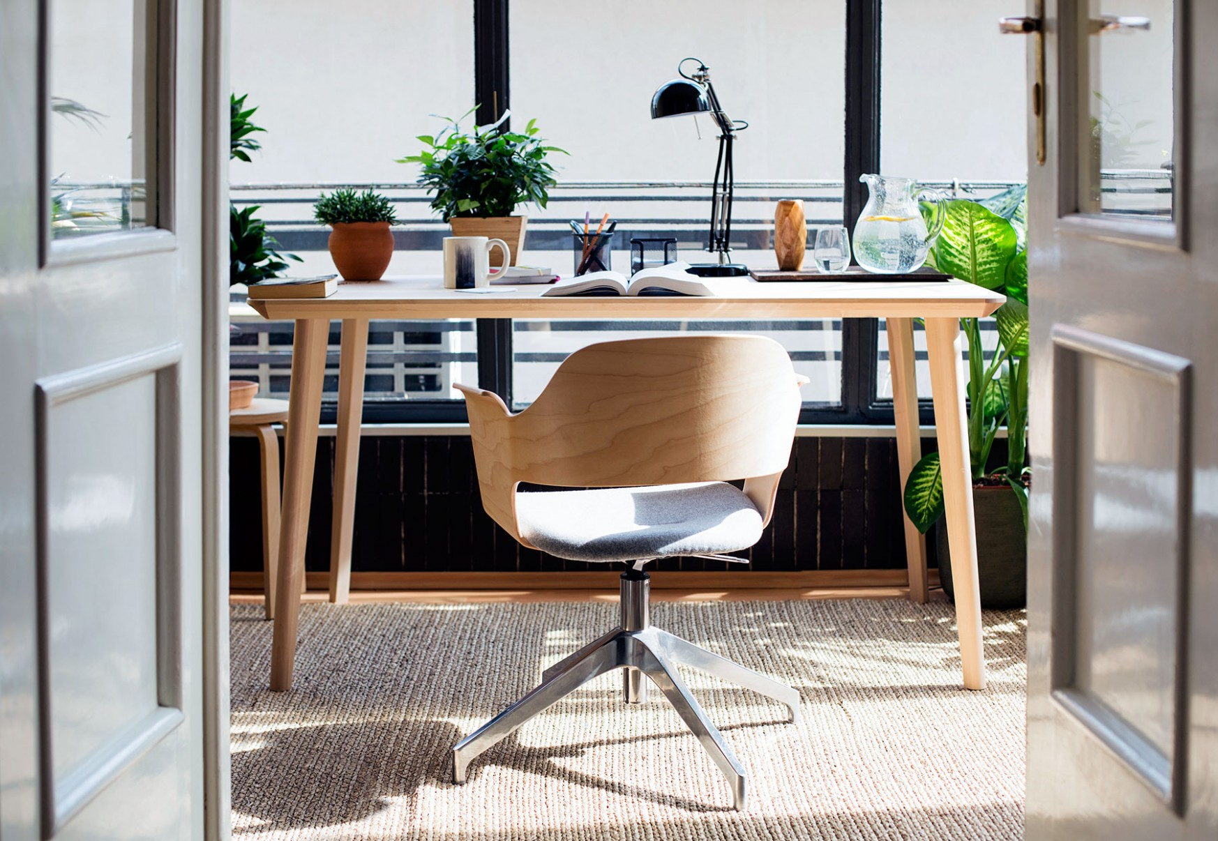 11 Home Office Ideas That Will Make You Want to Work All Day  - Home Office Ideas In Dining Room