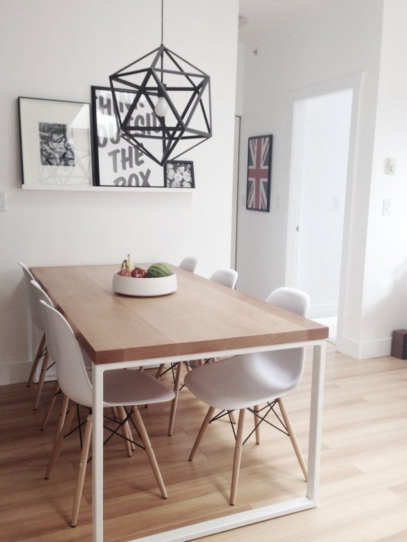 11 Inspiring Small Dining Table Ideas That You Gonna Love  Modern  - Dining Room Ideas Small Spaces Pinterest