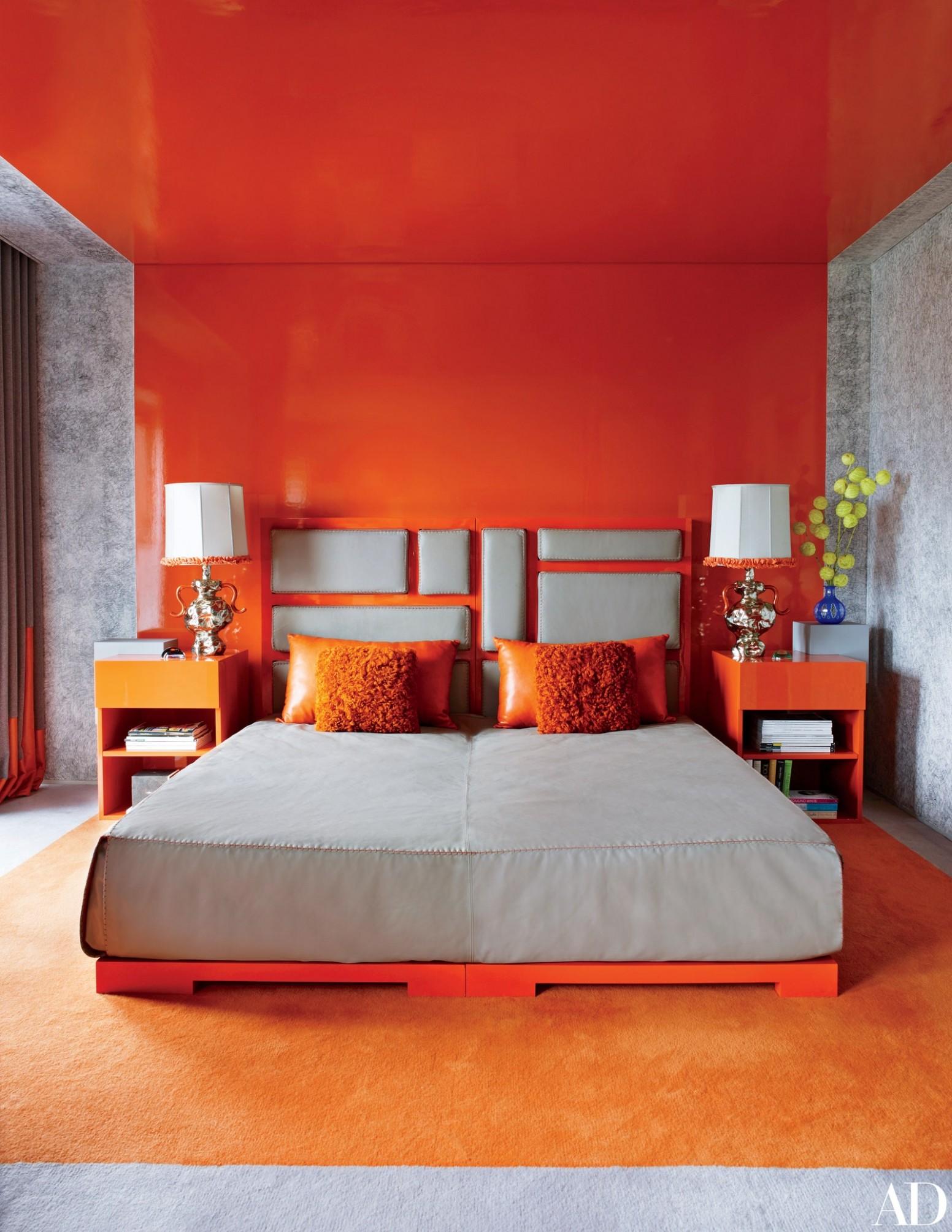 11 Master Bedroom Decorating Ideas and Design Inspiration  - Bedroom Ideas Orange
