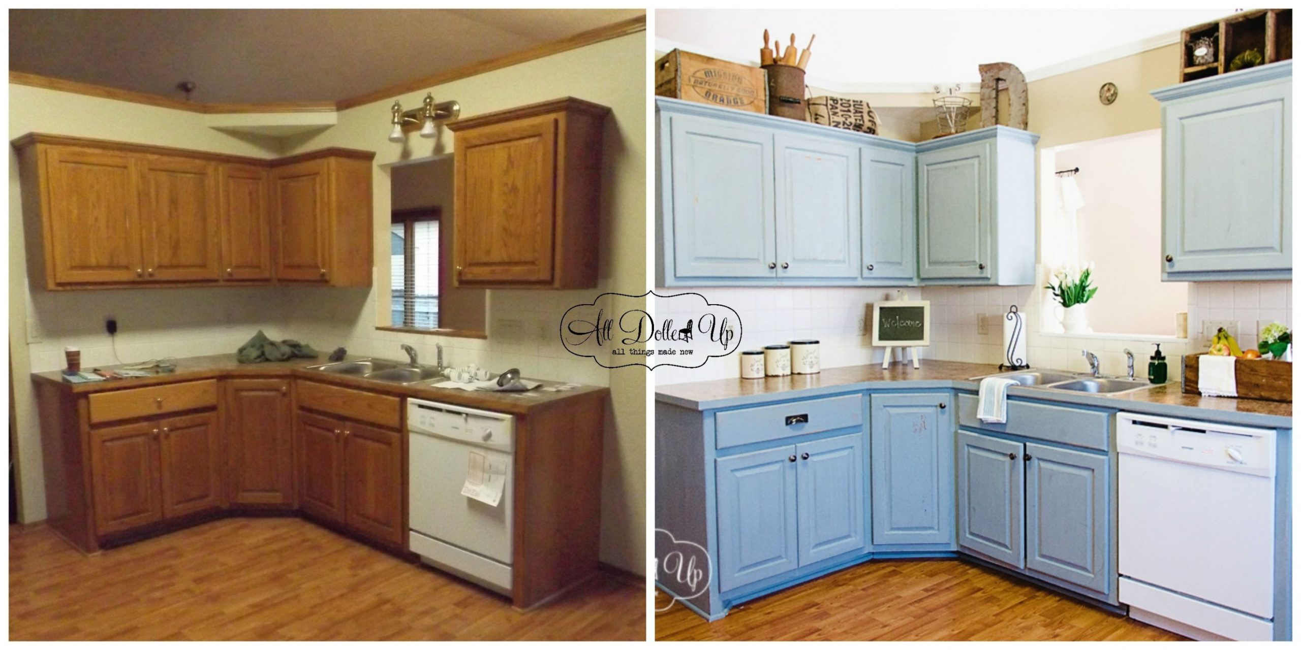 11+ Milk Painted Kitchens ideas  kitchen paint, painting kitchen  - Distressed Milk Paint Kitchen Cabinets