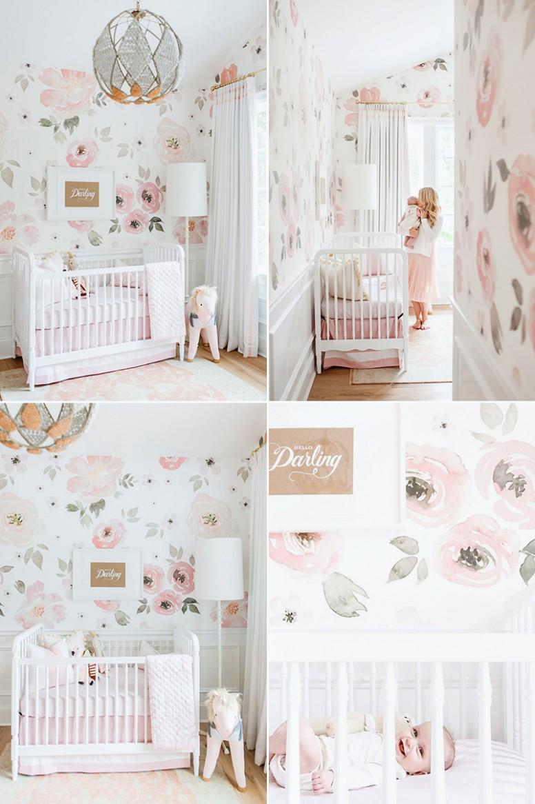 11 Modern Nursery Wallpaper Ideas That Create Stylish Baby Rooms  - Baby Room Wallpaper