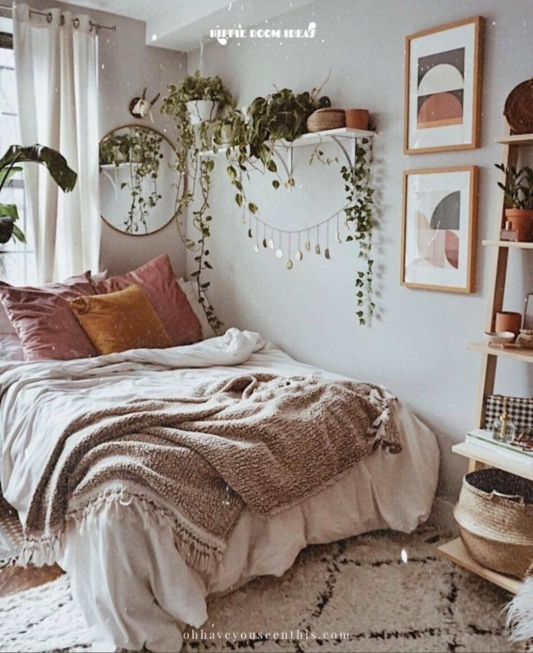 11 Most Popular Hippie Room Ideas in 1111 - The Good Luck Duck - Bedroom Ideas Hippie