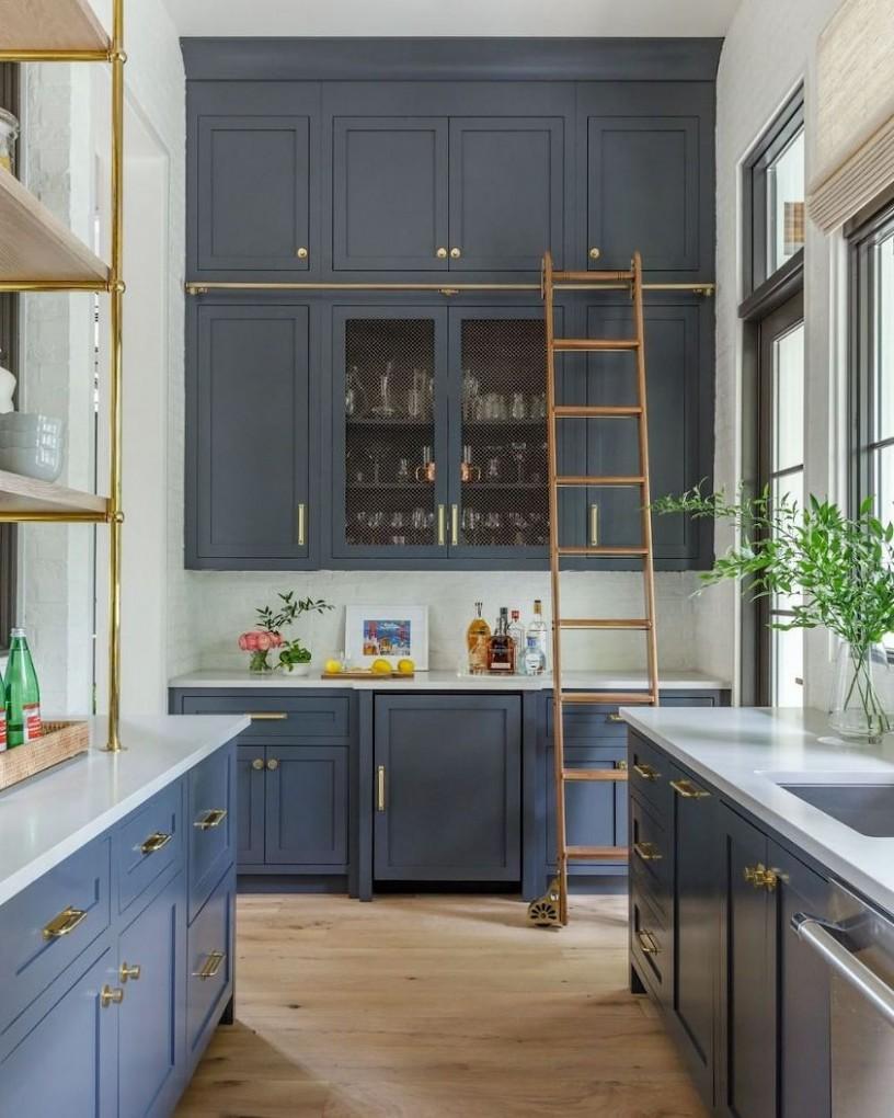 11 No-Fail Classic Kitchen Cabinet Colors  Laurel Home - Kitchen Cabinet Color Trends 2012