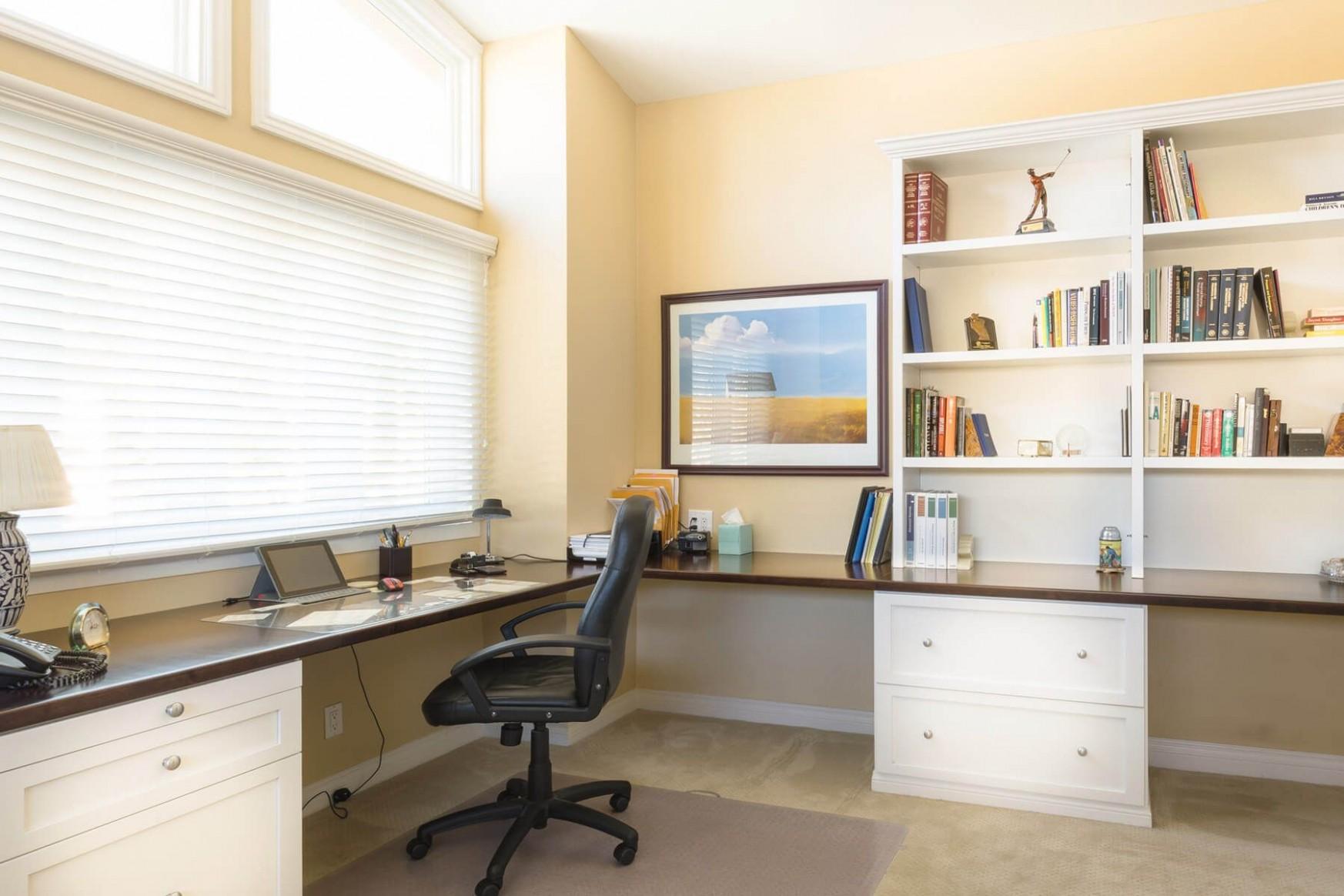 11 Really Great Home Office Ideas (Photos)  Cheap office  - Home Office Ideas With L Shaped Desk