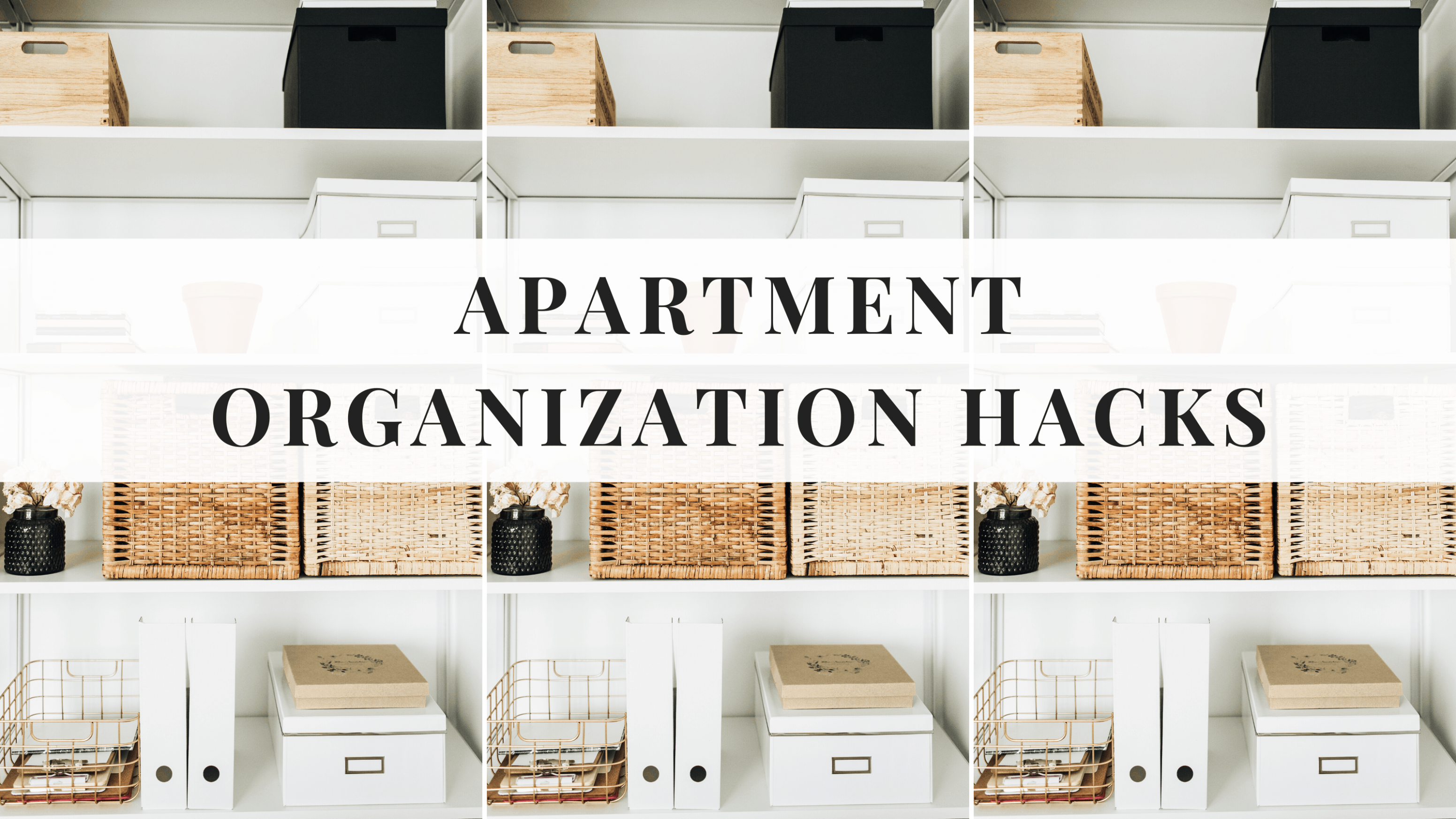 11 Seriously Genius Apartment Organization Hacks You Should Know  - Apartment Design Hacks