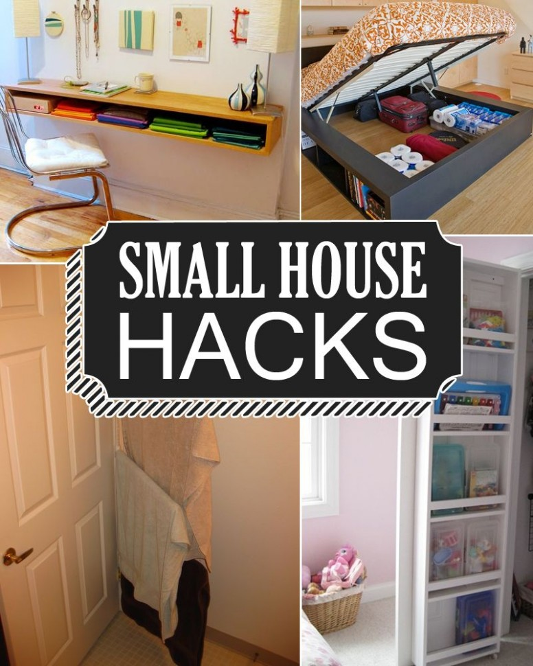 11 Small House Hacks to Maximize And Enlarge Your Space  Small  - Apartment Design Hacks