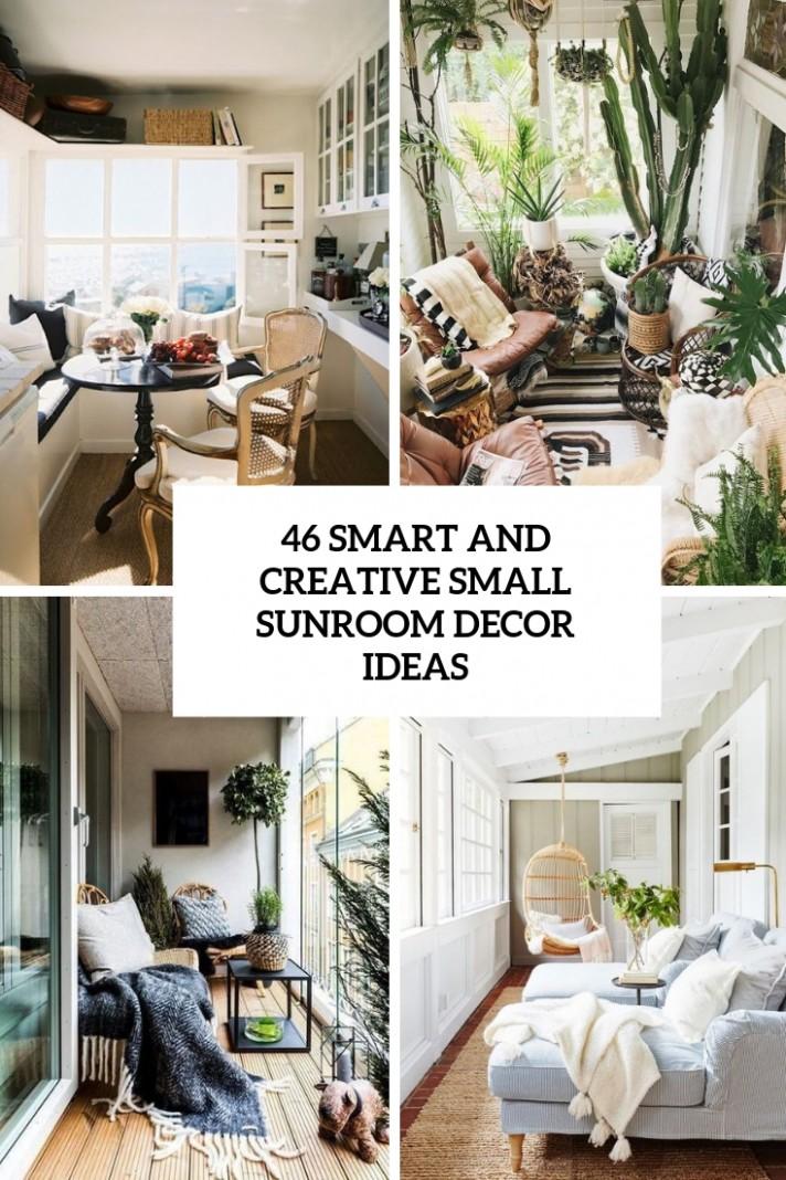 11 Smart And Creative Small Sunroom Décor Ideas - DigsDigs - Small Sunroom Off Bedroom