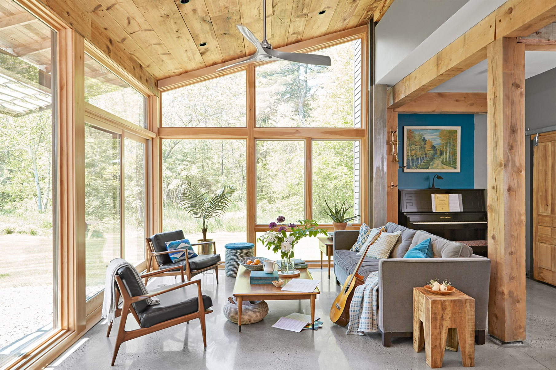 11 Sunroom Decorating Ideas for a Bright, Relaxing Space  Better  - Small Sunroom Off Bedroom