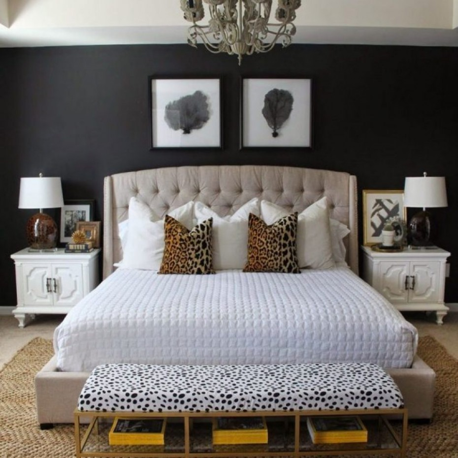 11+ The Argument About Neutral Master Bedroom Ideas Dark Furniture  - Bedroom Ideas With Black Furniture
