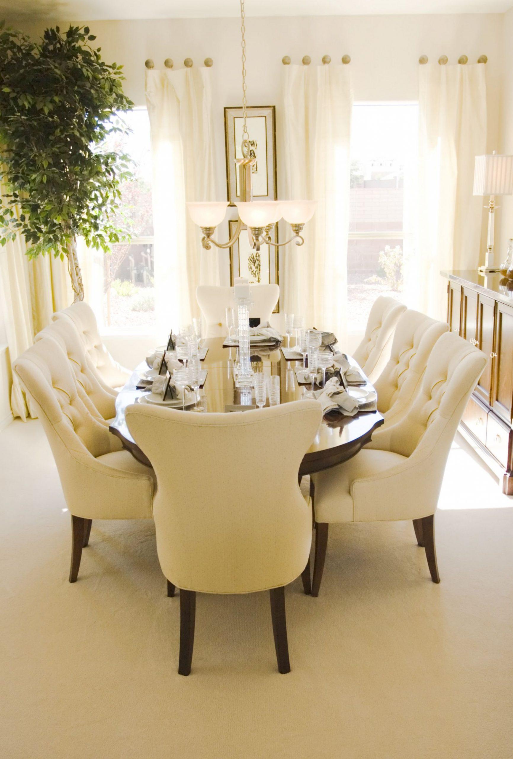 11 Ultra Luxury Dining Room Designs (Best-of-the-Best Photos  - Dining Room Ideas Cream