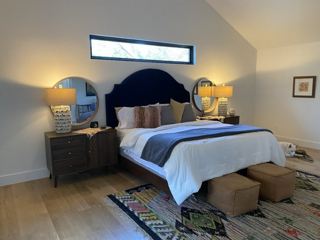 11 Ways to Get More Natural Light to Dark Rooms - Bedroom Ideas No Windows