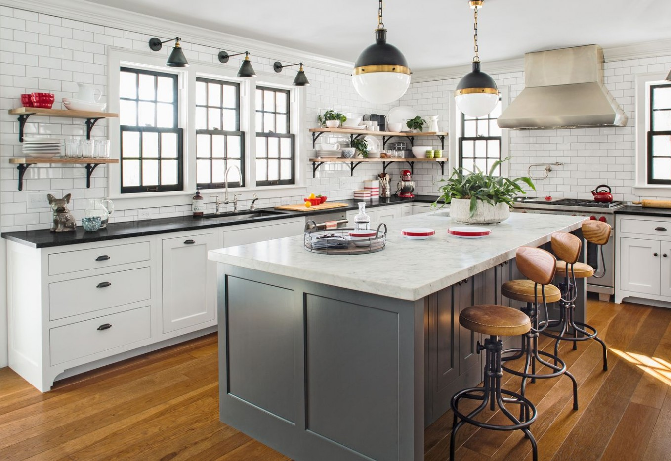 11 Years of Kitchen and Bath Remodel Trends - This Old House - Kitchen Cabinet Color Trends 2012