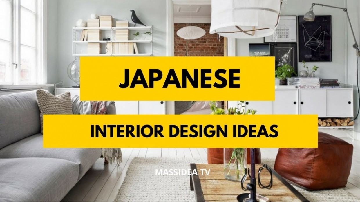 12+ Amazing Japanese Small Space Interior Design Ideas - YouTube - Small Apartment Japanese Design