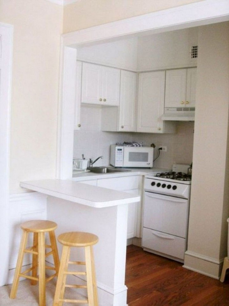 12+ Amazing Small Apartment Kitchen Design and Decor Ideas  Small  - Apartment Kitchen Design Ideas