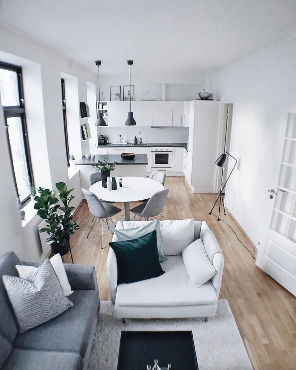 12 Amazing Small Apartment Living Room in 12  Small apartment  - Apartment House Design Ideas