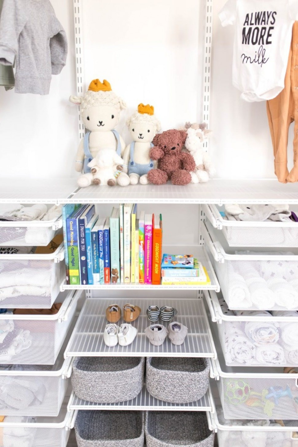 12 Baby Nursery Organization Ideas  Container Stories - Baby Room Organization