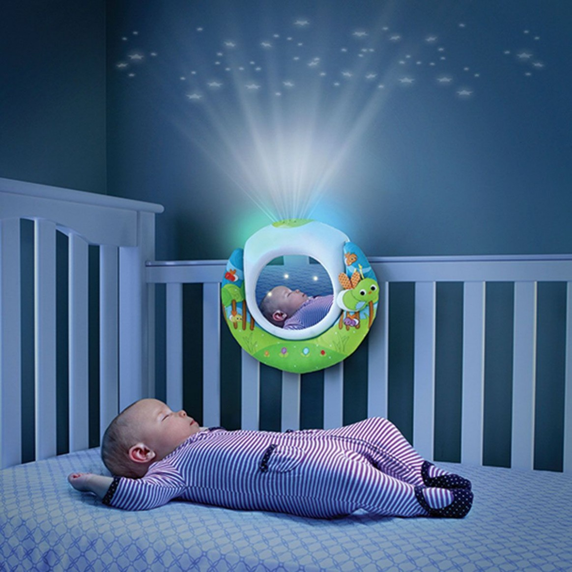 12+ Baby Room Projector Light - Best Spray Paint for Wood  - Baby Room Projector