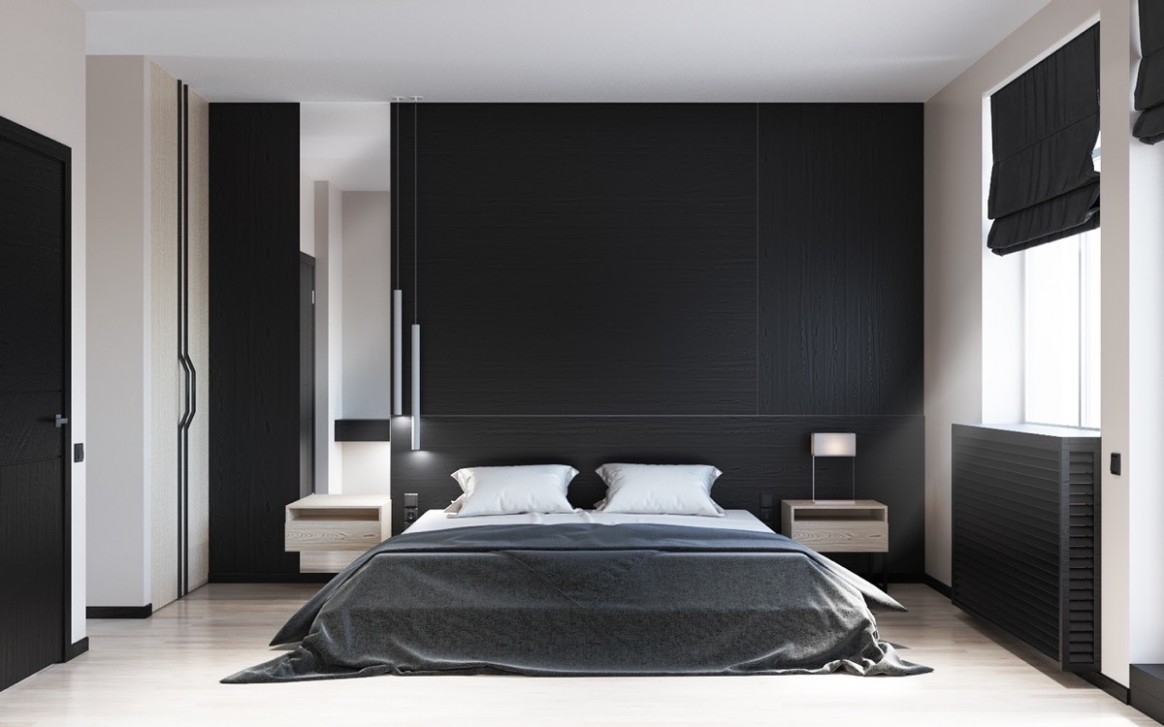 12 Beautiful Black & White Bedroom Designs - Bedroom Ideas Black And White