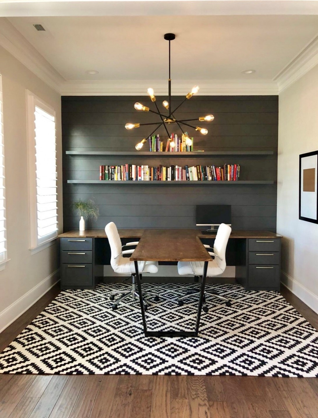 12 Beautiful Home Office Pictures & Ideas November 12  Houzz - Home Office Lighting Ideas