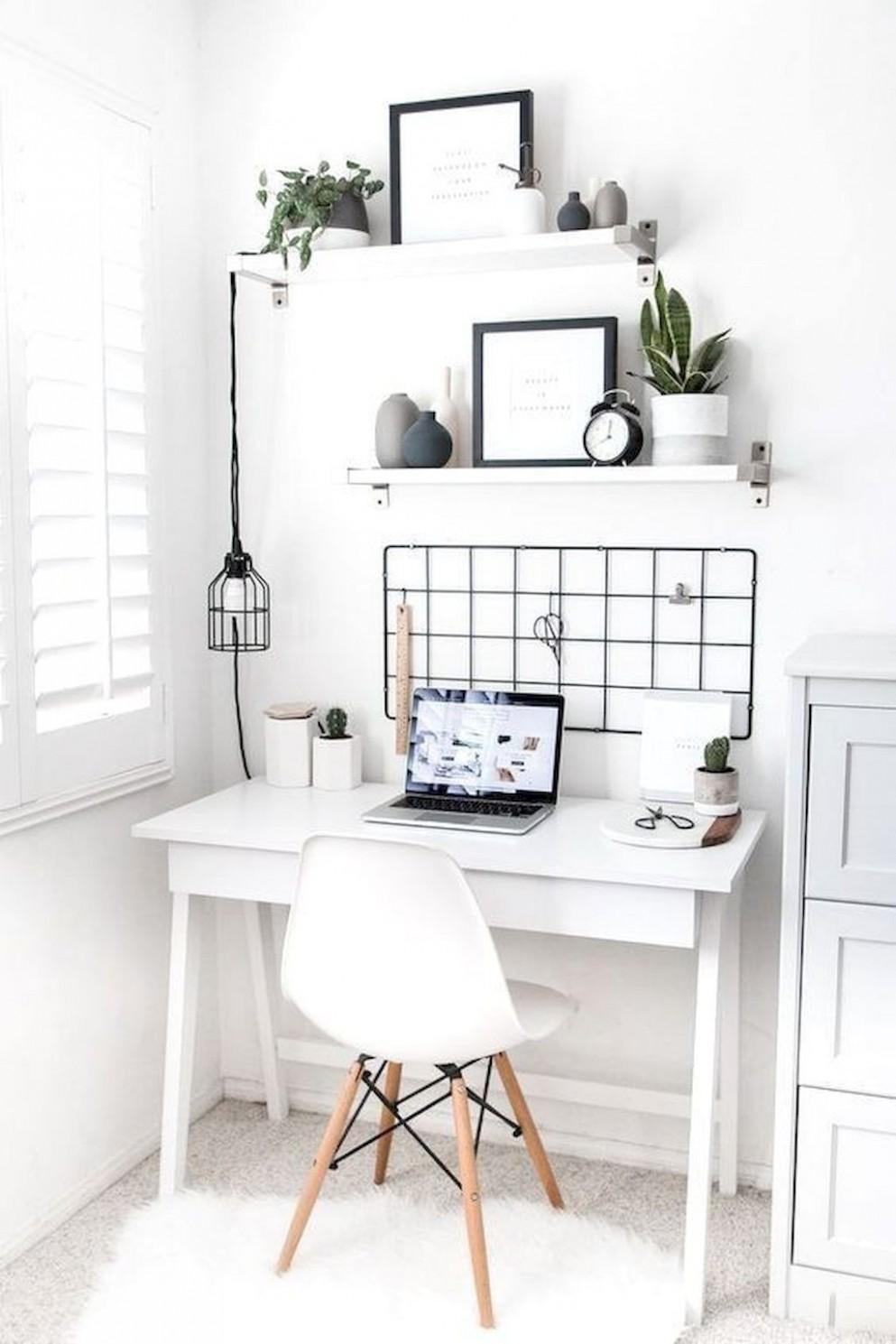 12 Beautiful Minimalist Home Decor Ideas - decorationroom  - Home Office Accessories Ideas