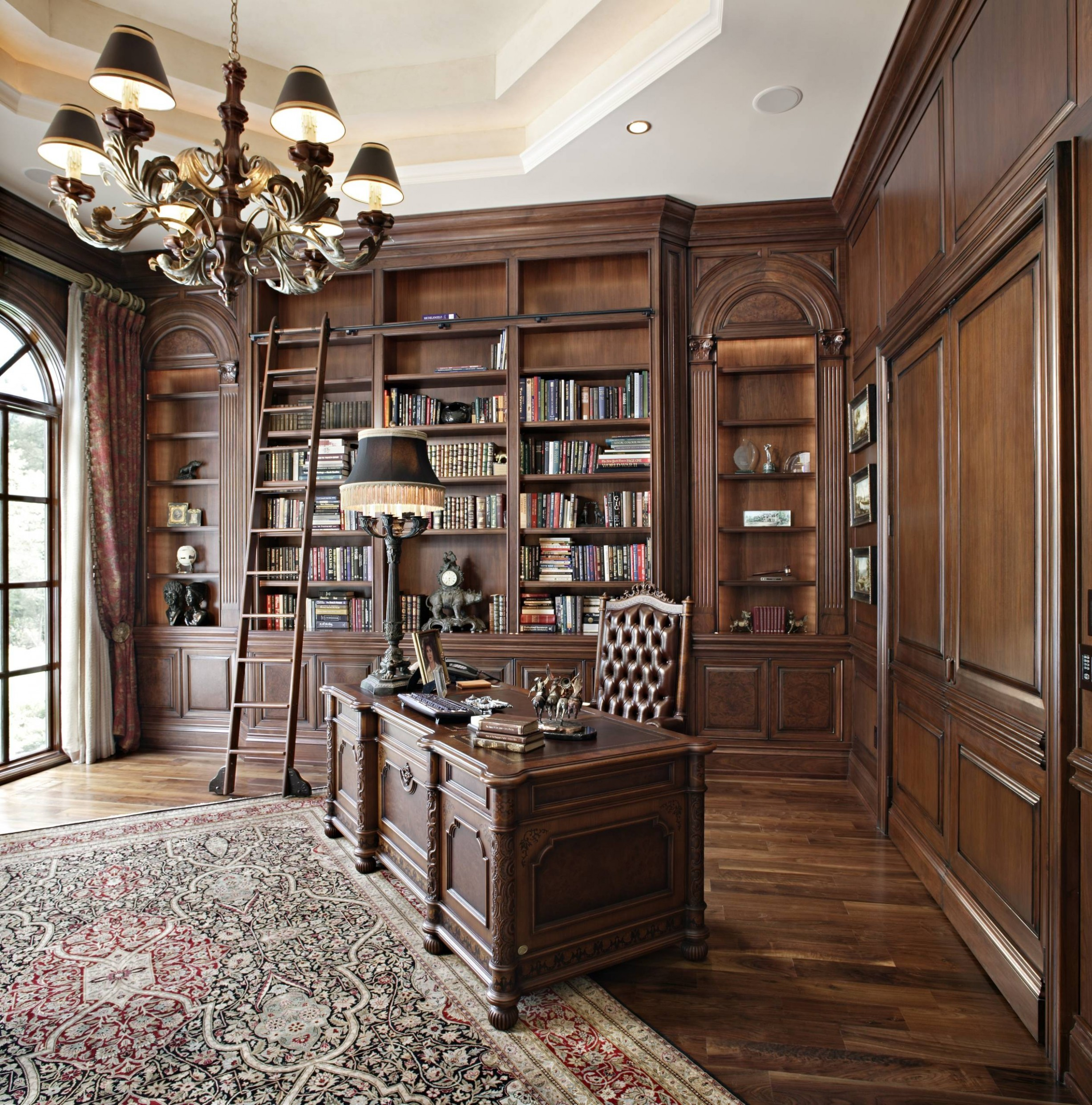 12 Beautiful Victorian Home Office Pictures & Ideas - November  - Victorian Home Office Ideas
