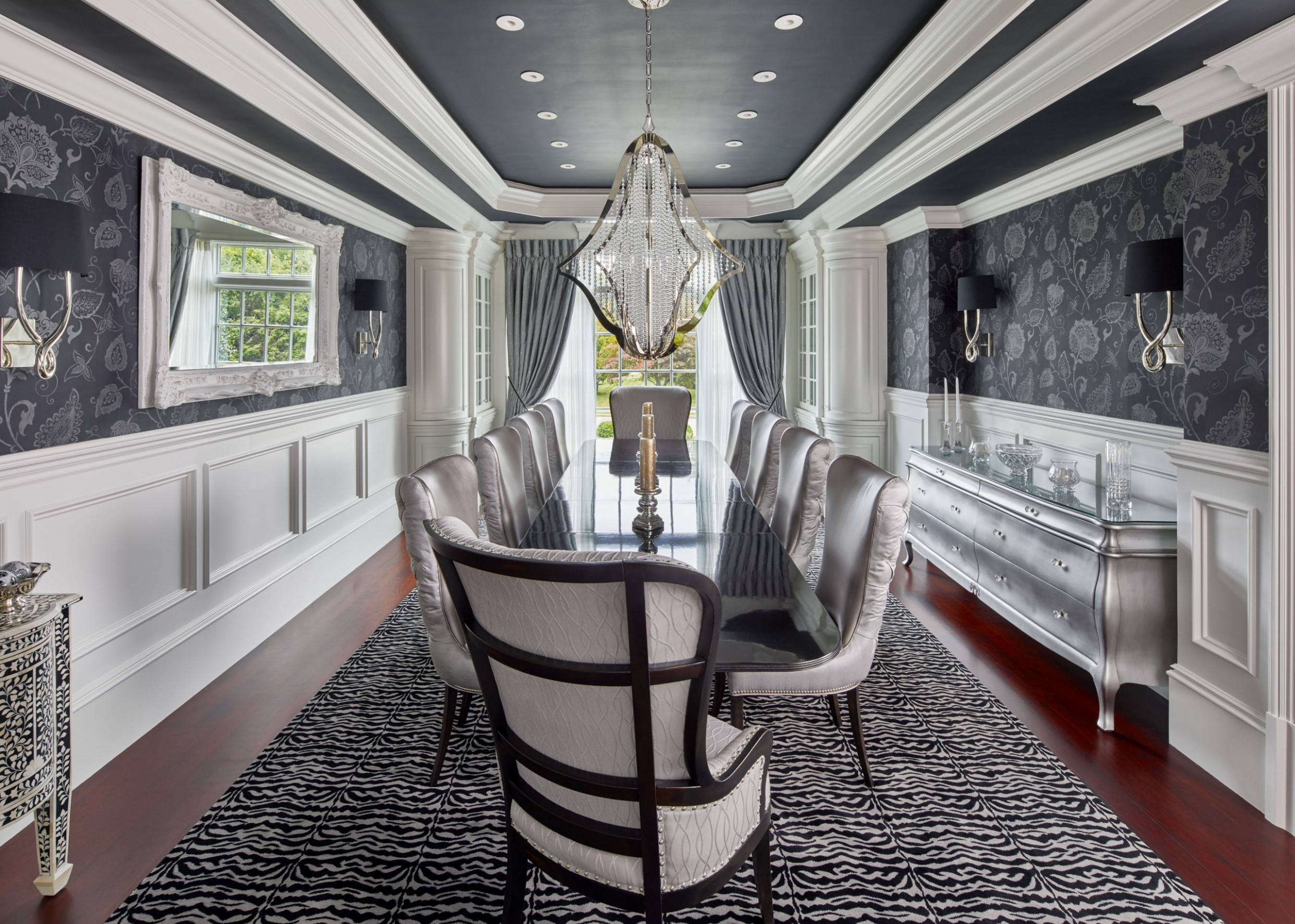 12+ Beautiful Wainscoting Dining Room Pictures & Ideas November  - Dining Room Ideas With Wainscoting