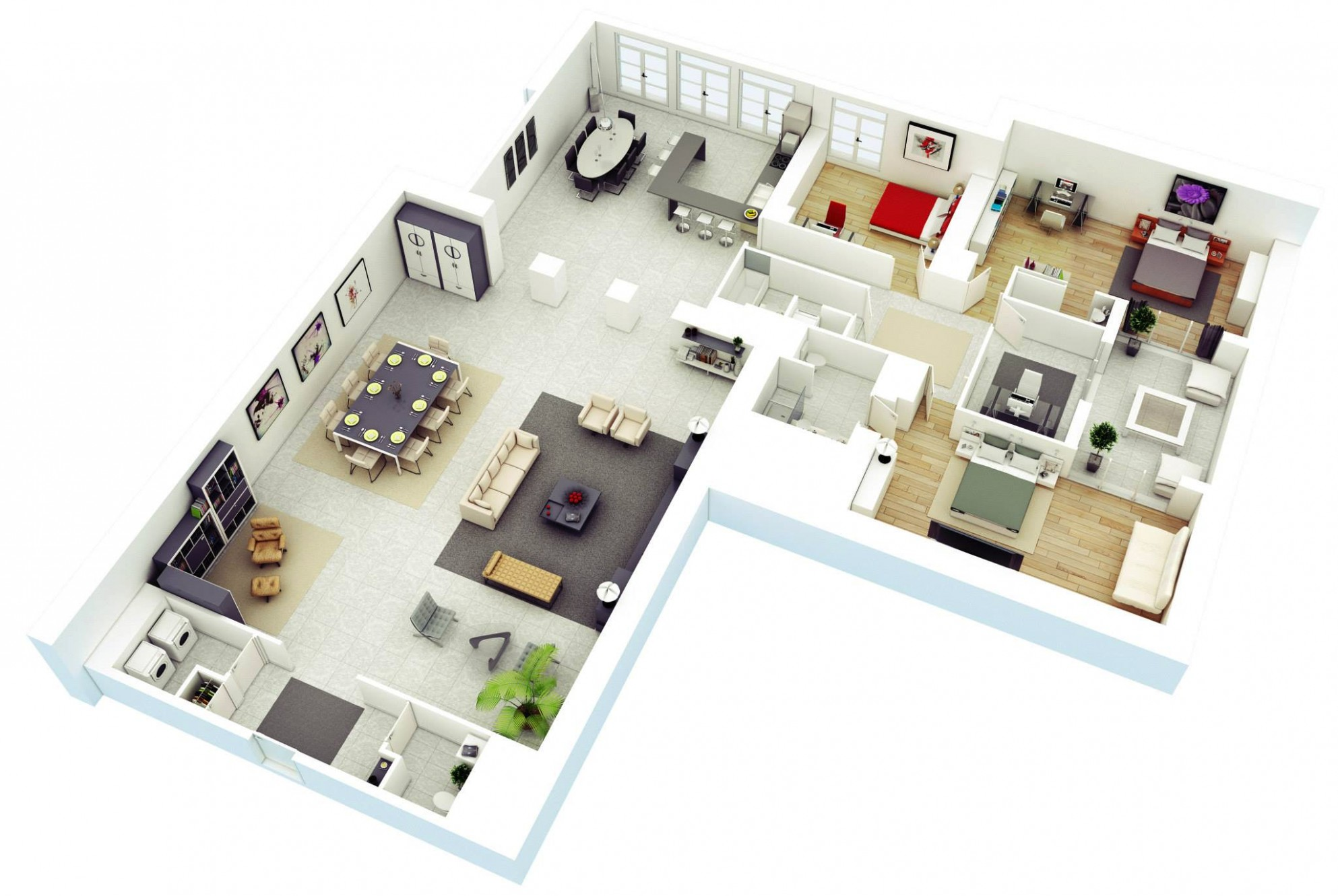 12 Best Free Home and Interior Design Apps, Software and Tools - Apartment Design Tool Online