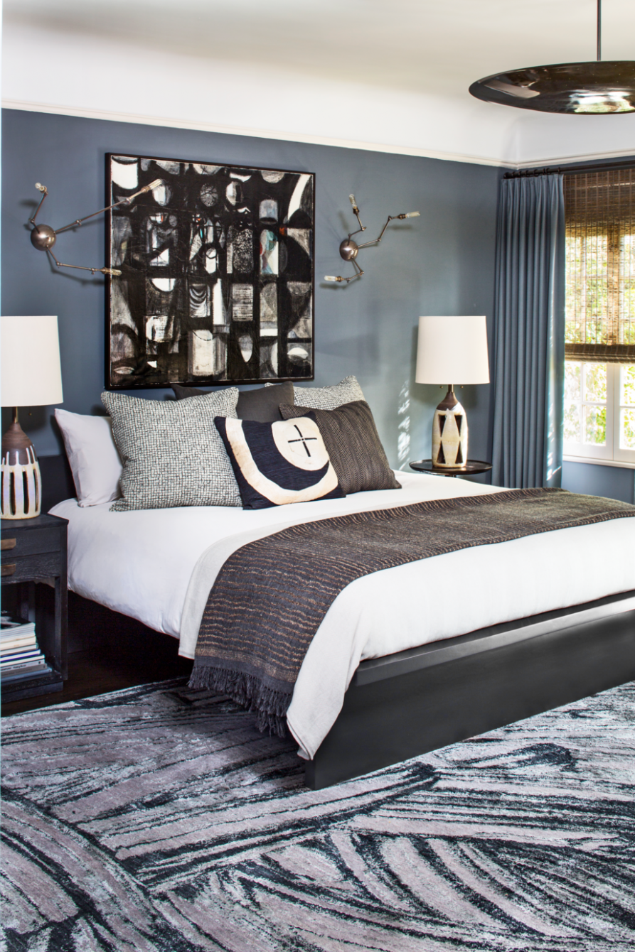 12 Best Gray Bedroom Ideas - Decorating Pictures of Gray Bedroom  - Bedroom Ideas Grey Bed