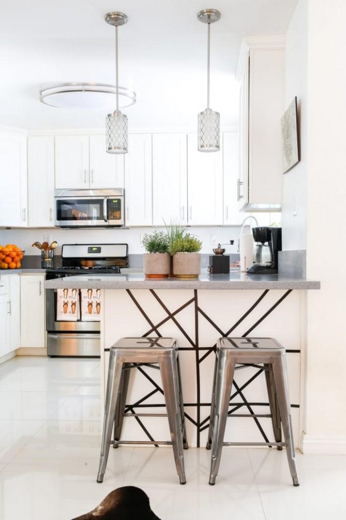 12+ Best Small Kitchen Design Ideas - Decorating Tiny Apartment  - Apartment Kitchen Design Ideas