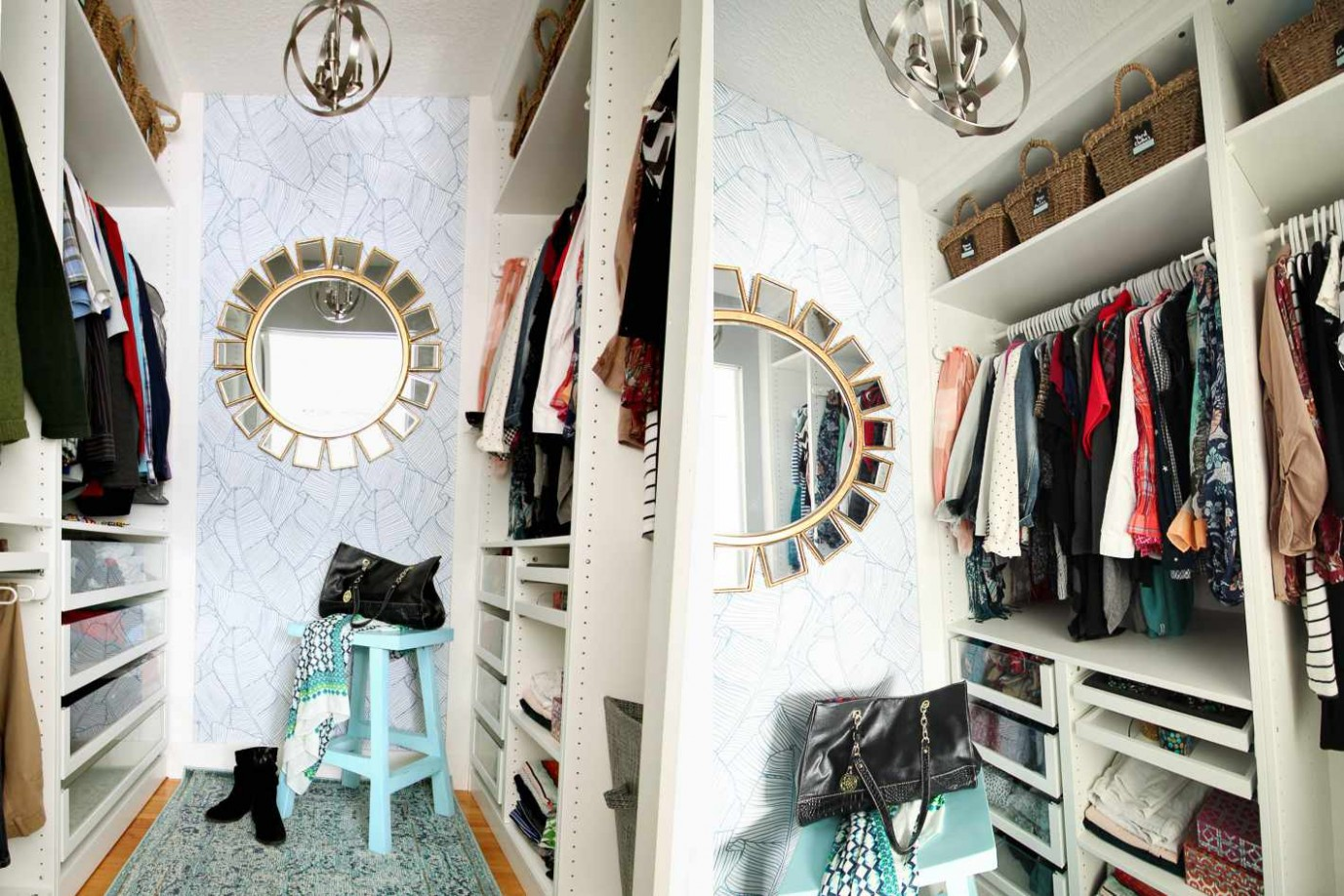 12 Best Small Walk-in Closet Storage Ideas for Bedrooms - Closet Ideas For Small Bedrooms
