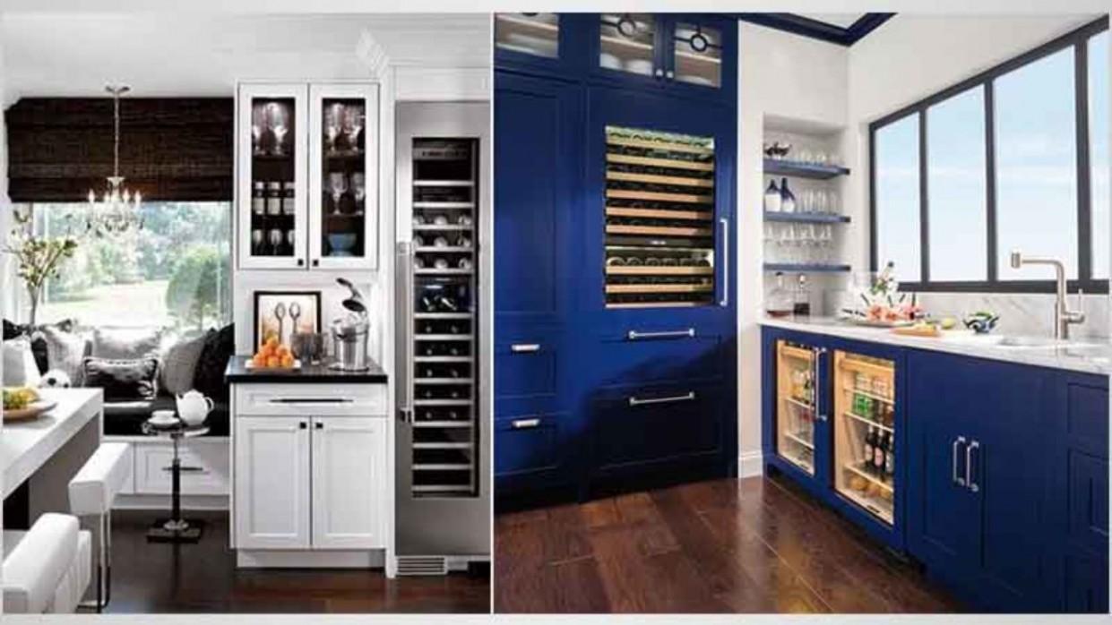 12 Best Wine and Beer Fridge  12 Reviews & Complaints - Wine Fridge Kitchen Cabinet