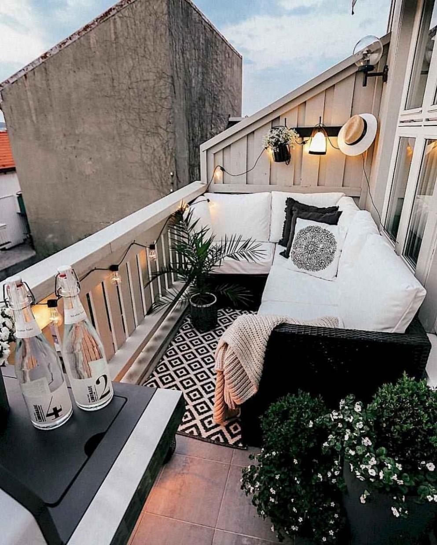 12 Cozy Apartment Balcony Decorating Ideas - Gladecor