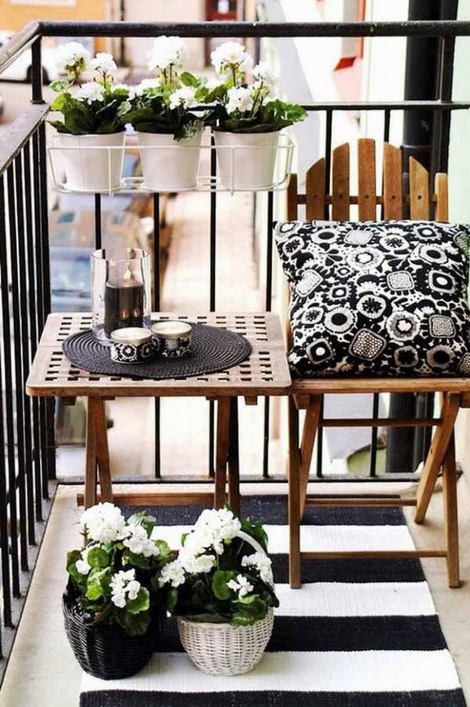 12+ Cozy Small Apartment Balcony Decorating Ideas on A Budget - Apartment Balcony Ideas On A Budget
