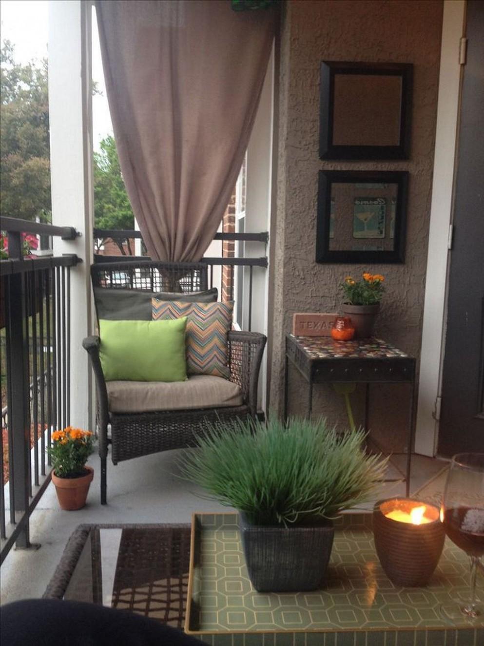 12 Creative Apartment Patio On A Budget Ideas 12  Apartment patio  - Apartment Balcony Ideas On A Budget