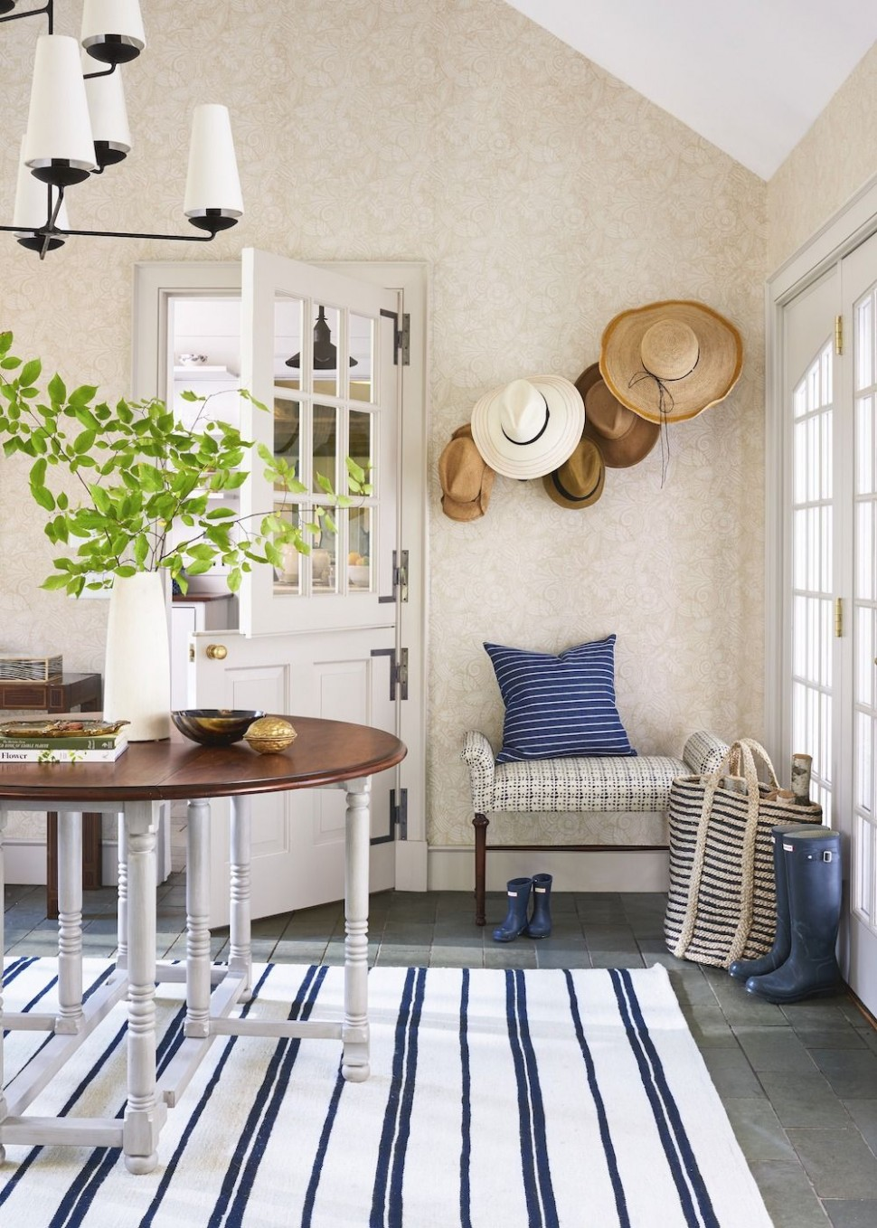 12 Creative Entryway Ideas - Decor Inspiration for Your Foyer - Dining Room Entryway Ideas