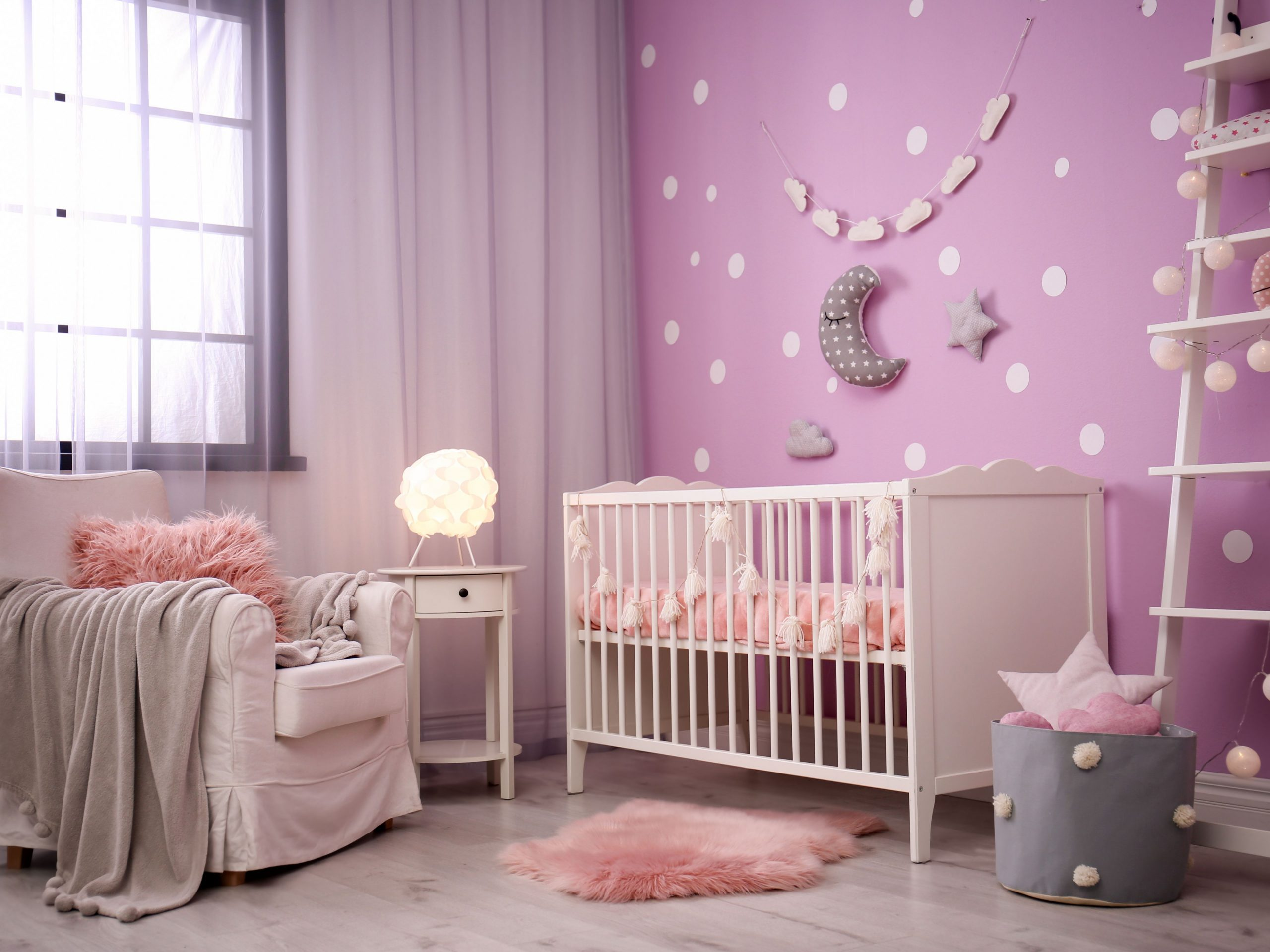 12 Creative Nursery Wall Ideas - Baby Room Pictures
